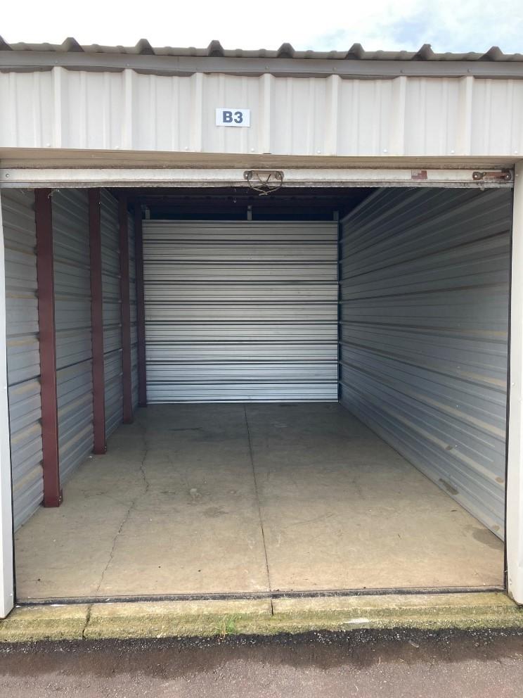 10x 20 storage unit